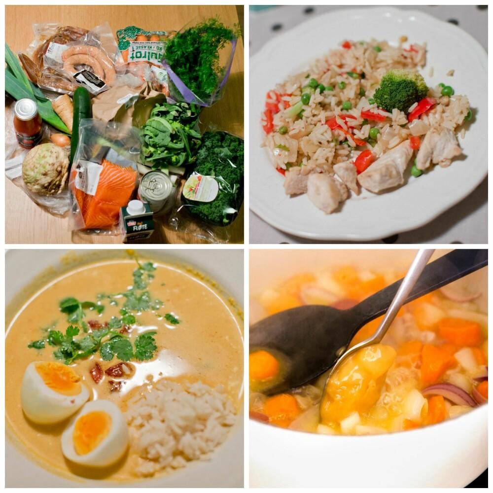 ØKOLOGISK: Kolonihagen tilbyr økologiske matvarer av høy kvalitet. På menyen var blant annet stekt ris med kylling, multigawny-suppe og lammefrikassé med rotgrønnsaker.