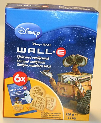 NUMMER 3: Disneys Wall E (Sætre)