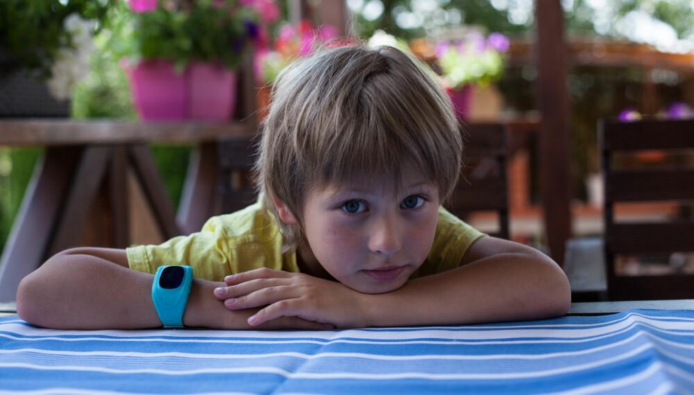 GPS-KLOKKE TIL BARN: En GPS-klokke fungerer på mange måter som en mobiltelefon, og gjør det mulig for foreldrene å kommunisere med og spore barna.