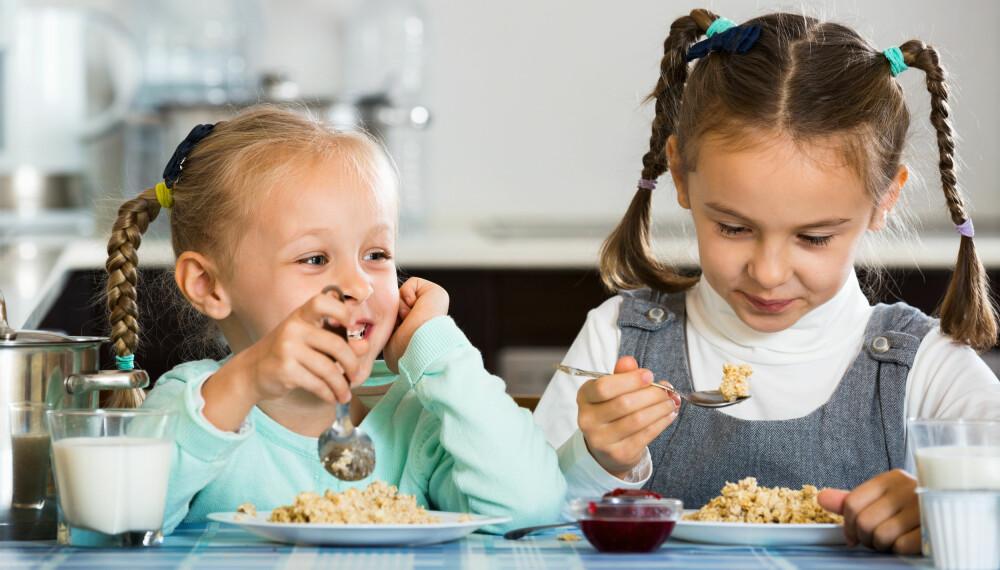 SUNT KOSTHOLD: Ernæringsfysiolog gir tips til dagsmeny og ukesmeny, samt 10 fristende oppskrifter som kan være til inspirasjon for familien og barnas kosthold. Foto: Gettyimages.com