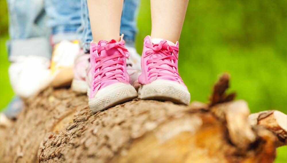 bd53f97f VELG RIKTIG BARNESKO: Det viktigste når du skal kjøpe sko til barna, er ikke
