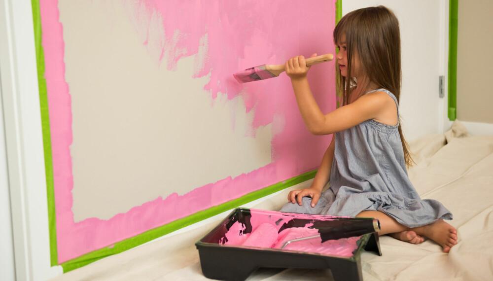 FARGER PÅ BARNEROM: Fargene barna omgir seg med kan påvirke psyken deres.