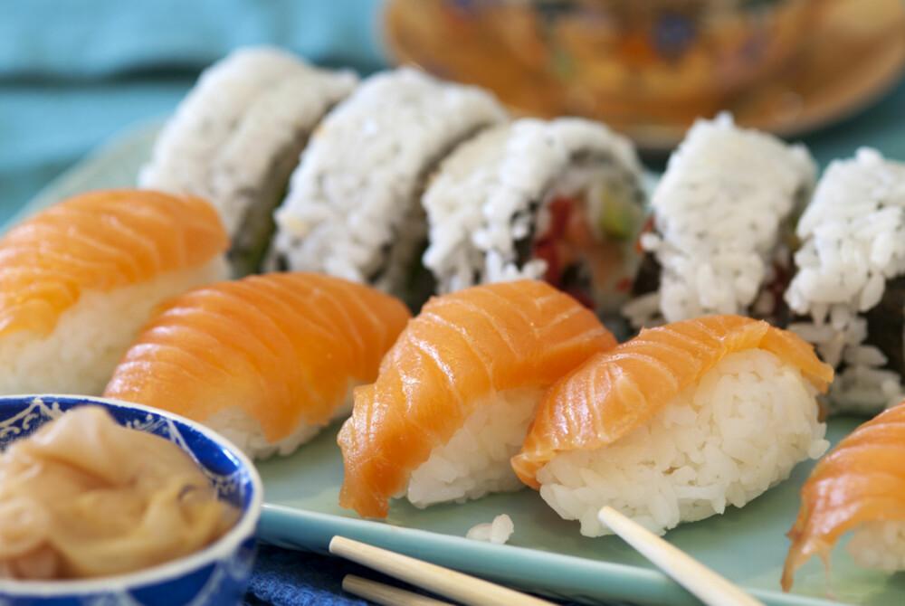 HJEMMELAGET:Sånn lager du din egen sushi!