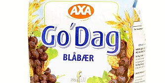 FROKOSTBLANDINGER: Axa Go`da Blåbær