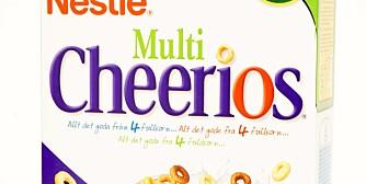 FROKOSTBLANDINGER: Multi Cheerios