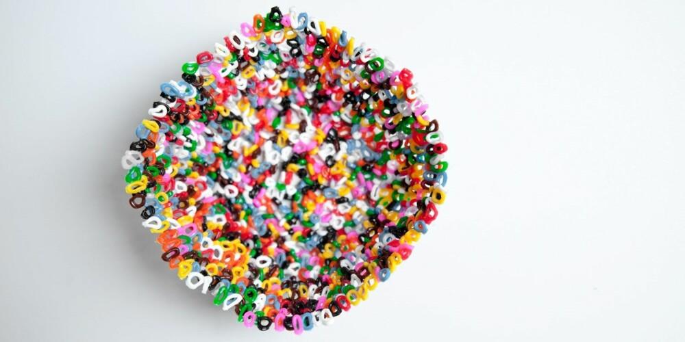 PERLER OG BARN: Gaveidé! En stekt skål av perler vil glede hvilken som helst bestemor eller venninne.