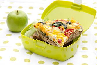 FRITTATA: En deilig omelett er perfekt å pakke med seg i sekken.