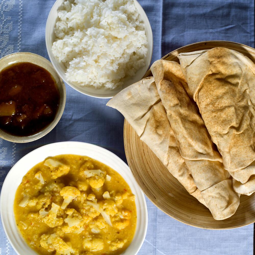 SPENNENDE INDISK VEGETARRETT: Gi blomkålen hovedrollen i middagen!