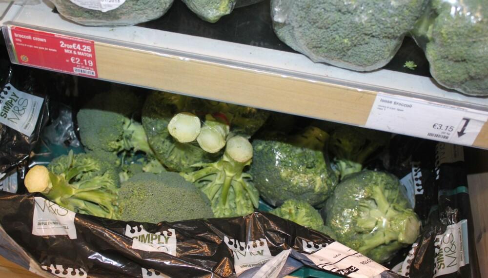 SUPER MAT: Det er ingen tvil om at enkelte matvarer er bedre for huden enn andre. Brokkoli er en av dem. FOTO: Trine Jensen