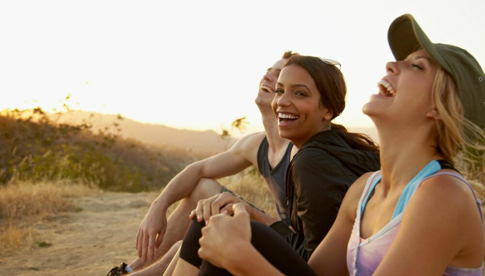 LYKKELIG: Dette gjør lykkelige mennesker annerledes enn alle andre. ILLUSTRASJONSFOTO: Thinkstock