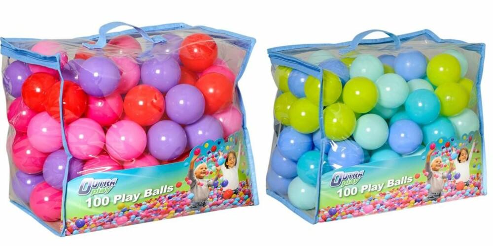 """ROSA OG BLÅTT: Toys R Us tilbyr fortsatt leker i både rosa og blått, men kategoriserer de ikke som """"jenteleker"""" eller """"gutteleker"""". FOTO: Toys'R'Us"""