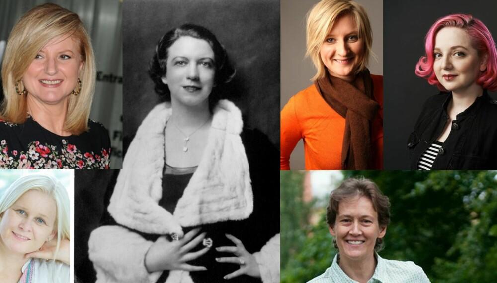 GRÜNDERE: Sju damer som tok grep om egen  karriere.
