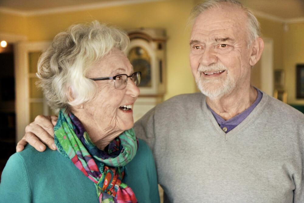 FIKK ET GODT LIV: Tross vonde krigsopplevelser der store deler av familien ble utryddet fikk Liv et godt liv. Hun har tre barn og fem barnebarn. Ektemannen døde 71 år gammel i 2001. Nå opplever hun kjærligheten på ny med parets gamle venn Karl Johan Larsen (85).
