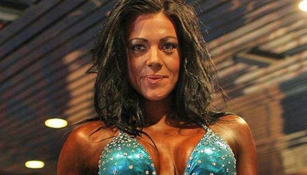 TRENER FITNESS: Andrea Eidesmo (29) fra Moss har trent målrettet mot fitnesskonkurranser siden 2004.