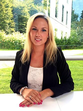 EKSPERT: Salgskonsulent i Global Blue, Tine Christine Wiik. Global Blue er den dominerende aktøren som hjelper turister med momsrefusjon. Foto: Privat
