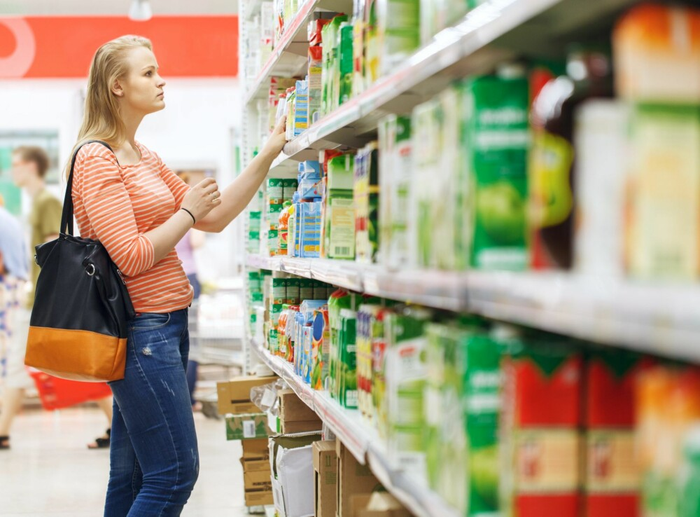 PLANLEGGING ER VIKTIG: Hvis du vet hva du skal ha i matbutikken før du drar dit, er det lettere å ikke kjøpe for mye.