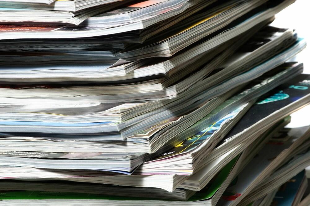 HØY UTGIFT PÅ ABONNEMENT: Mange abonnerer på blader eller tjenester de egentlig ikke trenger. Si opp noen av dem.