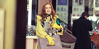 SHOPPEGAL: Isla Fisher i En shopoholikers bekjennelser.