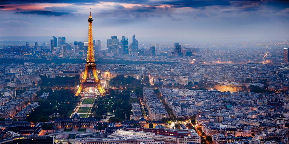 VERDENS MEST POPULÆRE BY: Paris er den mest populære turistdestinasjonen i verden, med over 30 millioner besøkende i året.
