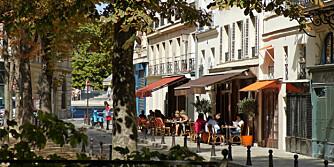 LATINERKVARTERET: I det historiske og sjarmerende Latinerkvarteret kan du nyte en cafe au lait på sjarmerende utekaféer - eller få nakenmassasje sammen med en hel haug andre mennesker.