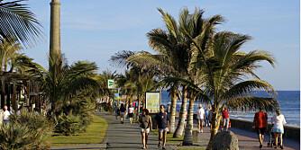 SPANSK LUKSUS: Myndighetene har brukt flere millioner euro på å oppgradere Gran Canaria. Her fra det eksklusive området Meloneras.