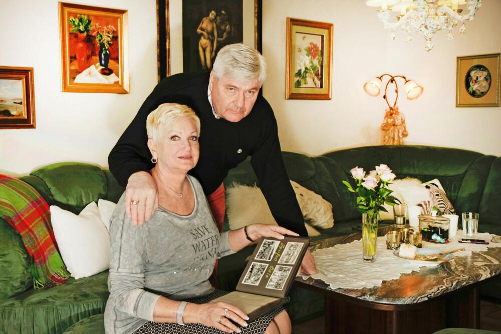 VISSTE LITE: Først i 2008 fikk Reidar Gabler og hans kone Marit hele historien om Reidars foreldre. De har fotoalbum og brev fra tiden moren aldri snakket om.