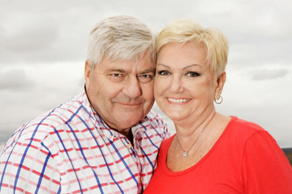 ØDELA NESTEN KJÆRLIGHETEN: At faren var tysk soldat under krigen, skapte problemer da Reidar møtte Marit. Forholdet holdt på å ryke, men nå har de vært gift i nesten 50 år.