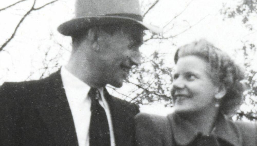 KJÆRLIGHETEN SOM IKKE LOT SEG STOPPE: Else ble forvist fra Norge fordi hun giftet seg med den tyske soldaten Erich Gabler i 1945.