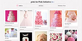 KAKER OG KORT: Opprett en profil på Pinterest, og begynn å samle ideer til den store dagen.