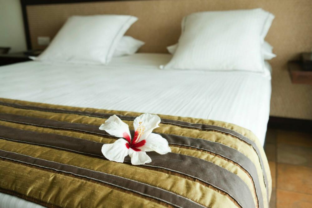 MILJØVENNLIGE HOTELL: Gjør research på forhånd, slik at du vet hvilke hoteller som er miljømerkede. Om det ikke finnes noen miljøvennlige hoteller, så bør du velge de hotellene som promoterer lokale krefter. - Spør deg frem, vær nysgjerrig og bruk egen dømmekraft, sier Irene Lane. FOTO: Colourbox