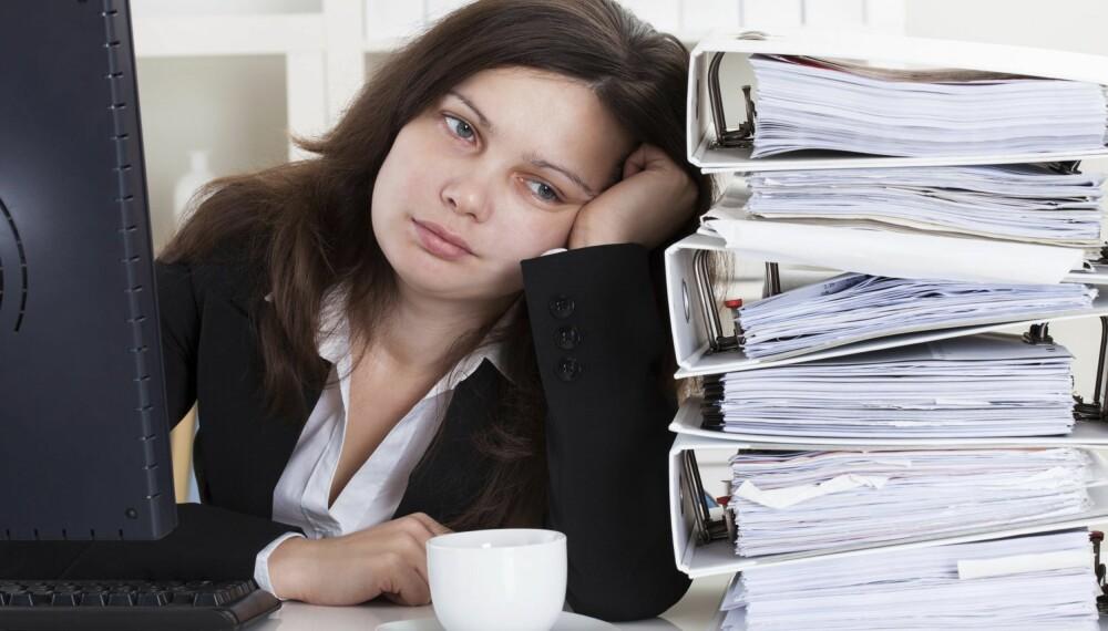 """ER REGLA BESKRIVENDE FOR DEG? """"Arbeidslyst kom til meg. Så skal du få hvile deg."""" FOTO: Thinkstock.com"""