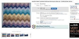 BILLIG: på eBay kan du sikre deg Missoni Home putevar til utrolige 153 kroner inkludert frakt