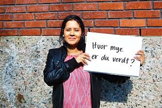 INA MARCELA FOLLESTAD: Førskolelærer. Adoptert fra Colombia.
