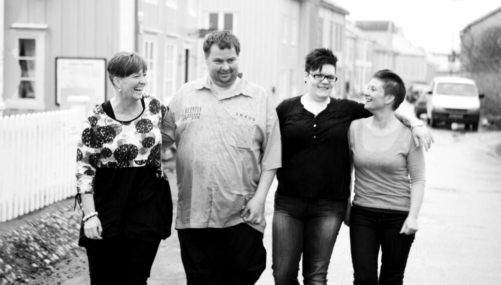 VALGTE SLANKEOPERASJON: Irene Thorvaldsen, Geir Severinsen, Helen Tverå og Kristin Kongsdal. FOTO: Gry Traaen