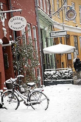 SHOPPING I JULA: Det er en helg egen stemning i København i førjulstiden.