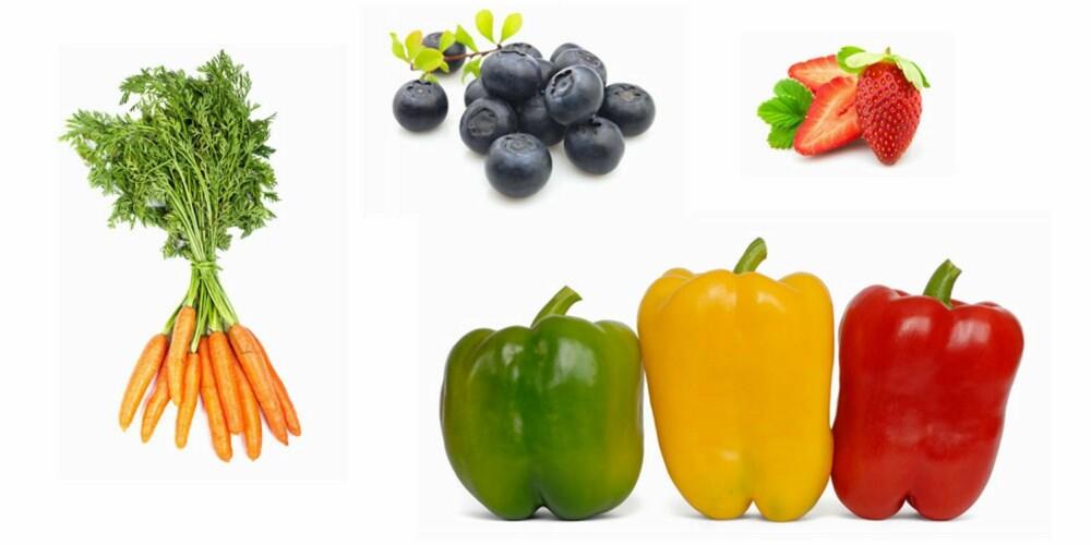 KUTT DE OPP: - Tenk oppkutting. Kutter du grønnsakene blir det en god hverdagssnack, sier Guttorm Rebnes.