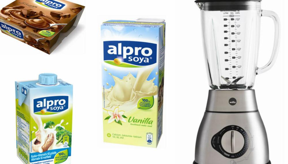 VINNER: Blender og soyaprodukter