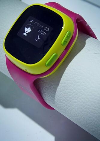 GPS-KLOKKE: En barneklokke med GPS gjør at du kan følge med på barnet ditt når det er ute på egenhånd.
