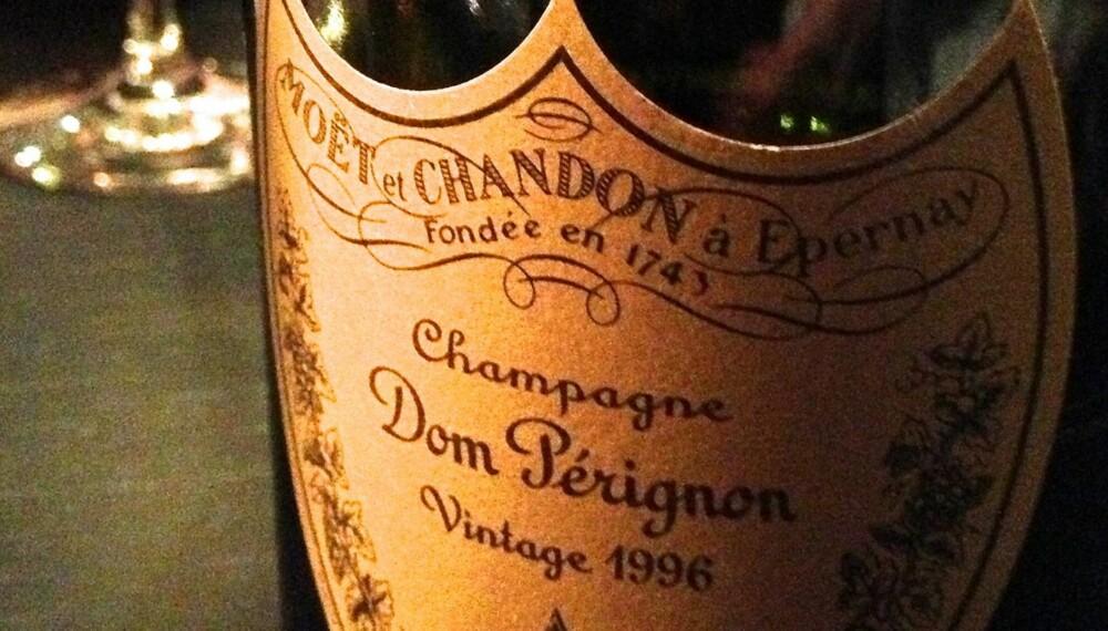 FLOTT VIN: Dom Perignon 1996.