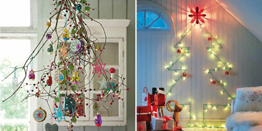 MODERNE JUL: Sliter du med litt plassmangel, finnes det mange kule og moderne alternativer til tradisjonell julepynt.