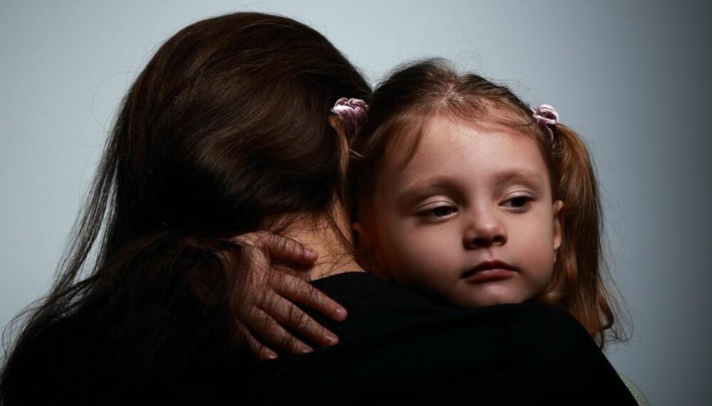 NÅR MAMMA ER DEPRIMERT: Søk hjelp, det vil hjelpe både deg og barnet ditt.