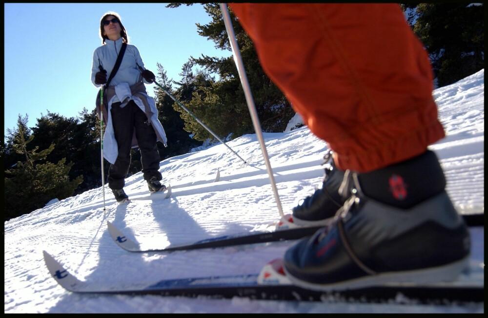 SKO SOM PASSER: Det er viktig med god nok plass i skiskoen.