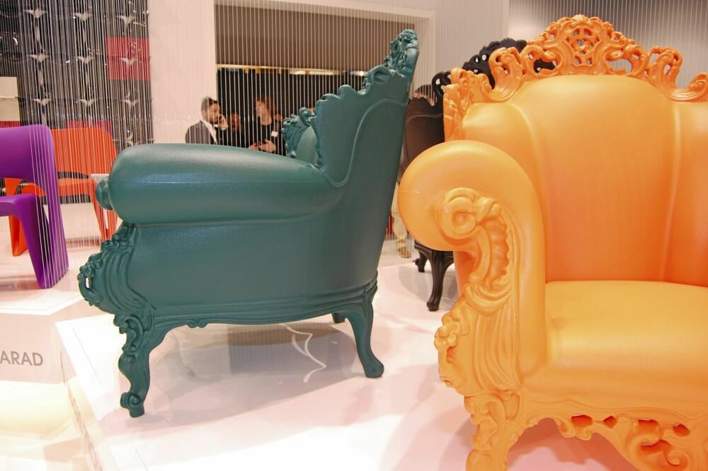 NY TOLKNING AV NYTOLKNING: Det modernistiske møbelikonet Proust Chair ble i år lansert i plast.