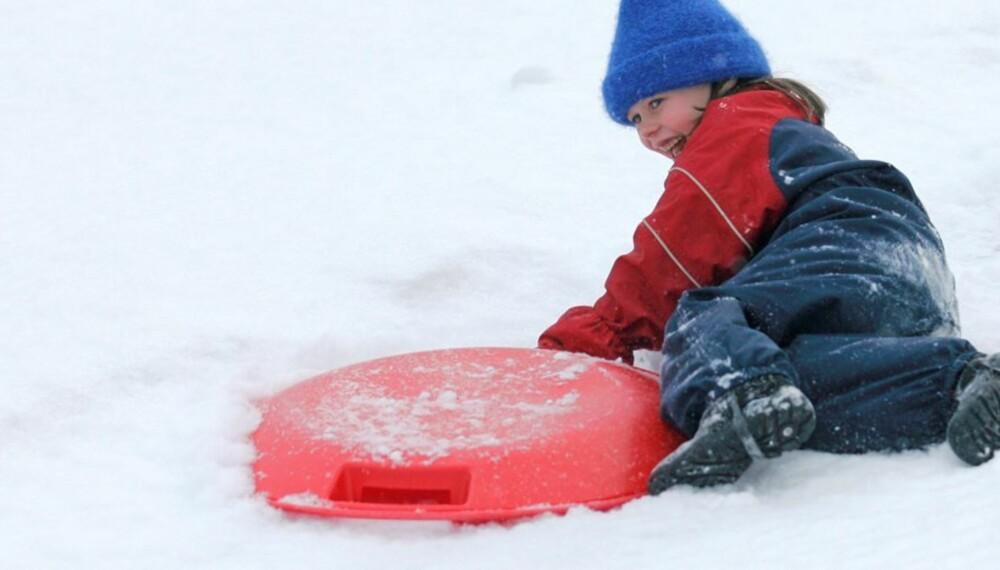FOR KALDT? Tradisjonelt regner man - 10 som kuldegrense for små barn.