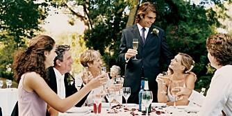 BORDPLASSERING: Gjestene skal kose seg og slappe av når de spiser og drikker, så her gjelder det å parre de som passer sammen.