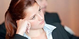 KJEDELIG: Taler bør ha en maksgrense på fem-10 minutter.