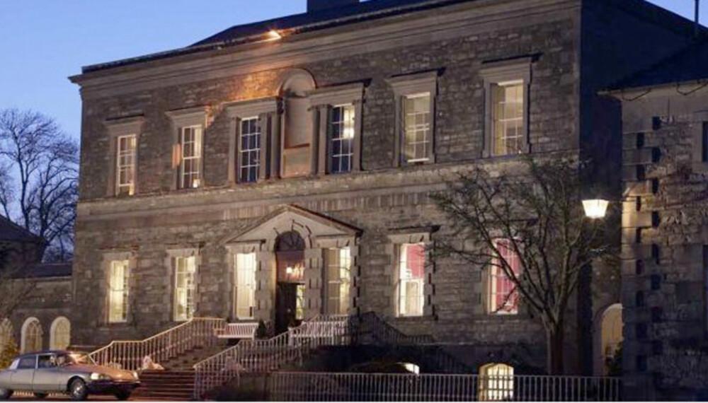 IRLAND: Bare 45 minutter fra Dublin ligger vakre Bellinter House, hvor dere kommer til å få noen svært romantiske dager sammen.