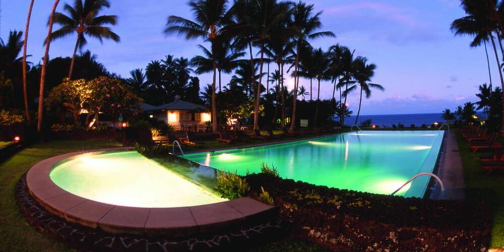HAWAII: På Travaasa Hana er alt lagt til rette for at du ikke trenger å løfte en finger i ferien.