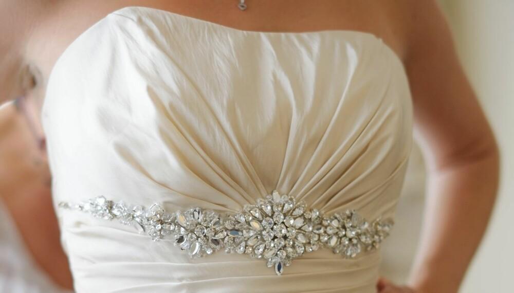 SELG BRUDEKJOLEN: Ta i bruk tipsene, så kanskje du kan få solgt brudekjolen din.