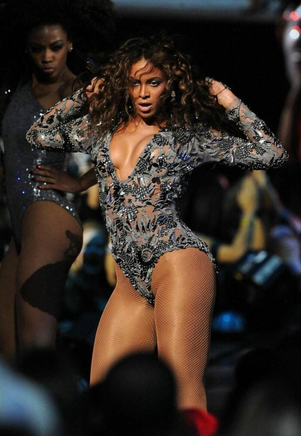 SMASHING: Beyonce er en av verdens største sexsymboler og lar seg tilsynelatende ikke stresse over mangelen på thigh gap.